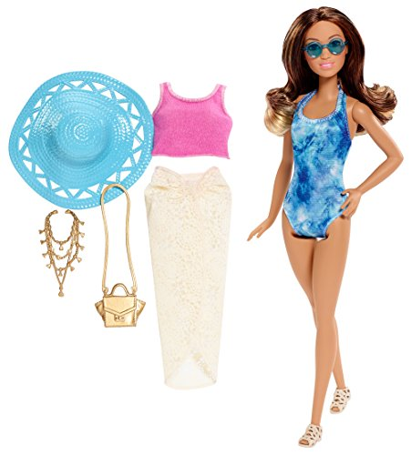Barbie Glam Vacation Doll, Tie Dye One Piece (Tie Dye One Piece compare prices)