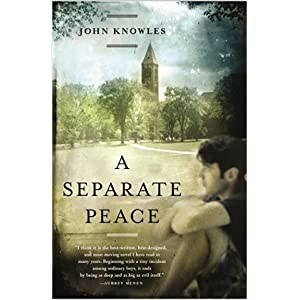 Cover Image of A Separate Peace by John Knowles