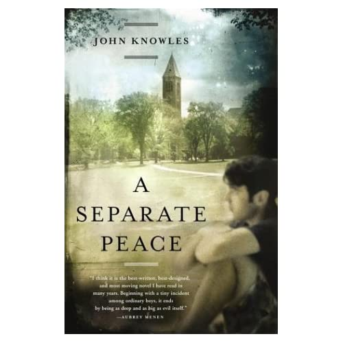 the significance of the title of the novel a separate peace by john knowles The title of every great novel has some significance sometimes that significance can clearly be seen and sometimes you really have to analyze the book to figure out the title's significance.
