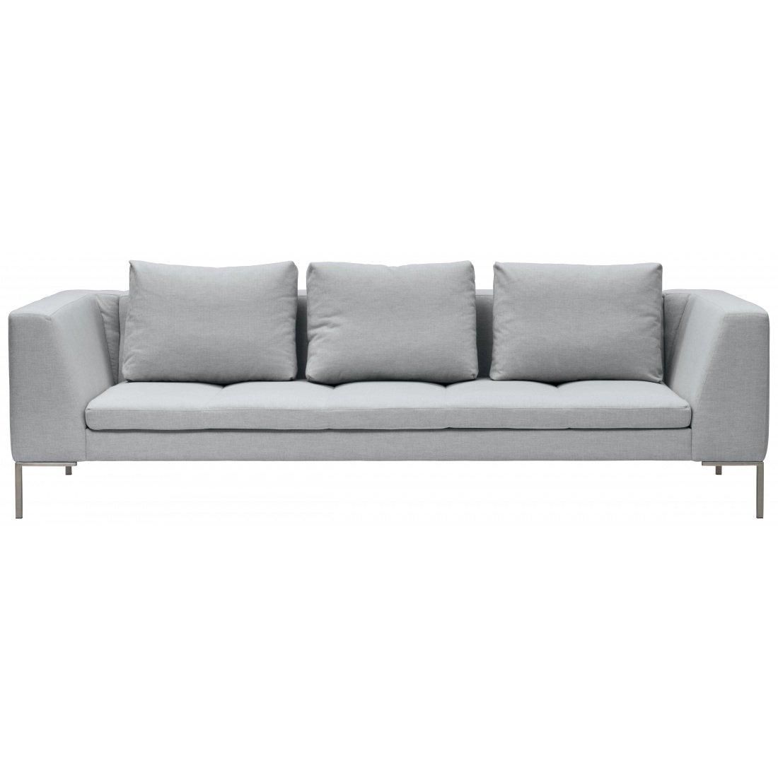 3-Sitzer Sofa Silber Designer Couch Sofa kaufen