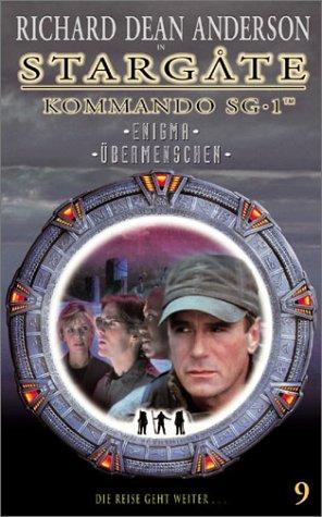 Stargate Kommando SG-1 Folge 09: Enigma/Übermenschen [VHS]