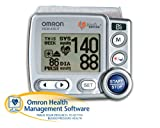 Omron HEM-670IT Wrist Blood Pressure Monitor with APS (Advanced Positioning Sensor) and Advanced Omron Health Management Software
