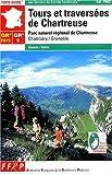 echange, troc Guide FFRP - Tours et traversées de Chartreuse