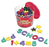 Learning Resources Magnetic Foam Letters and Numbers Deluxe Set