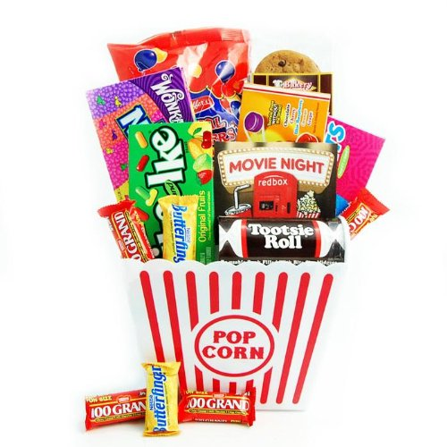 Redbox Movie Night Snack Gift Basket