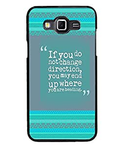 PrintDhaba Quote D-4138 Back Case Cover for SAMSUNG GALAXY GRAND 3 (Multi-Coloured)