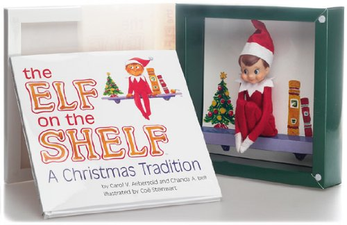 The Elf on the Shelf A Christmas Tradition with Blue Eyed North Pole