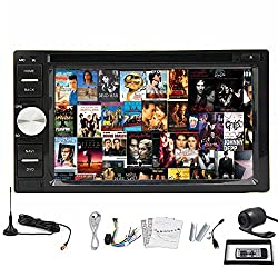 See Pupug Android 4.2 In Dash Car Video GPS DVD Radio Player Digital TV Capacitive Touch Back Camera 2 DIN Details