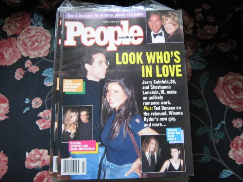 People Weekly (Jerry Seinfeld & Shoshanna Lonstein....Look Who's In Love, March 28 , 1994)