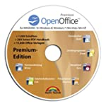 Open Office Premium Edition CD DVD 10...