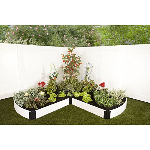 Curved Raised Garden Beds : ... Curved End Composite Raised Bed Garden Kit Online  Raised Bed Kit