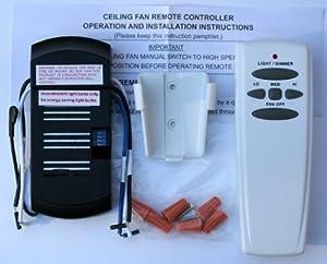 Amazon Com Universal Ceiling Fan Remote Control Kit