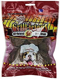 Loving Pets Grill-icious Dog Treats, Beef, 8-Ounce