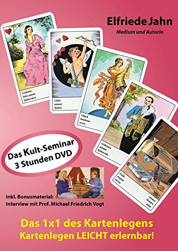 Das 1x1 des Kartenlegens. Kartenlegen leicht erlernbar: Das Kult-Seminar jetzt neu auf DVD