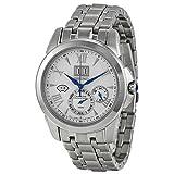 Seiko(セイコー) Kinetic Ivory Dial Stainless Steel Chronograph Men's Watch キネティック アイボリー ダイヤル ステンレス クロノグラフ メンズ腕時計 [並行輸入品]