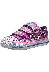 Skechers Kids 10444L Twnkl Toe Glitternglitz Light-up Sneaker (Little Kid/Big Kid)