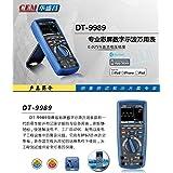 CEM DT-9989 digital multimeter oscilloscope LCD Color screen usb Professional current voltage test electrician tools