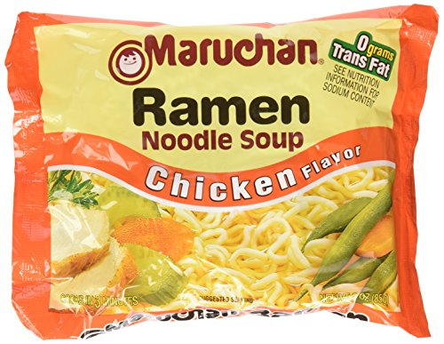 Maruchan Ramen Noodle Soup, Chicken Flavor, 3 oz, 36 Packs (Chicken Flavor Soup compare prices)