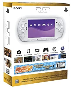 PSP-3000 ModNation Racers - White - Standard Edition