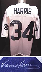 Franco Harris Autographed Hand Signed Penn State Nittany Lions Jersey by Real+Deal+Memorabilia