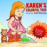 img - for Children's eBook: Karen's Colorful Trip (emotions books for children) (manners books for kids) Values (parenting books) fun (Short Bedtime Story for sleep) ... books) (Children's Books Collection Book 3) book / textbook / text book