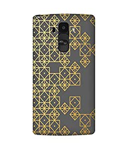 Golden Pattern LG G4 Case