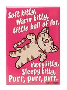 The Big Bang Theory Soft Kitty Pink Magnet - 1 Pc.