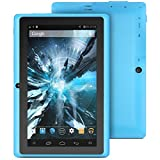"ProntoTec 7"" Android 4.4 KitKat Tablet PC, Cortex A8 1.2 GHz B00HXB5H8Y Core Processor,512MB / 4GB,Dual Camera,G-Sensor (Blue)"
