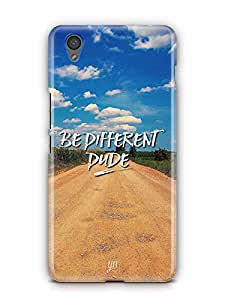 YuBingo Be Different Dude Designer Mobile Case Back Cover for OnePlus X