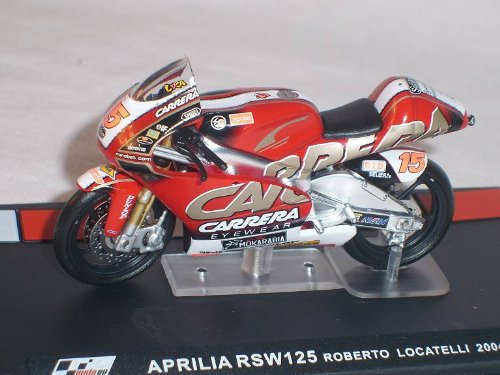 Aprilia RSw125 RSw 125 Roberto Locatelli 2004 Motogp 1/24 Altaya By ixo Modellmotorrad Modell Motorrad SondeRangebot