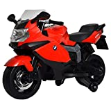 Best Ride On Cars BMW Ride On Motorcycle 12V, Red (Color: Red, Tamaño: One Size)