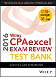 img - for Wiley CPAexcel Exam Review 2016 Test Bank: Auditing and Attestation book / textbook / text book