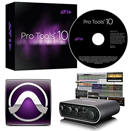 Avid Pro Tools 10 with a FREE MBox Mini Includes Pro Tools 9 Software and Free Upgrade to 10