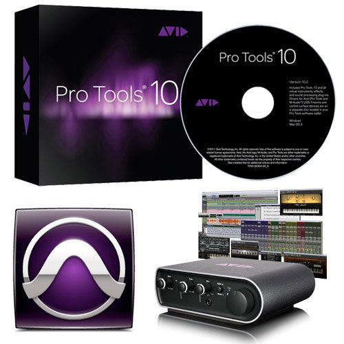 Avid Pro Tools 10  a FREE MBox Mini Includes