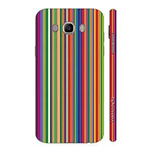 Enthopia Designer Hardshell Case Archies Stripes Back Cover for Samsung Galaxy J7( 2016)