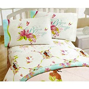 Amazon.com: Princess and the Frog Twin Sheet Set - Girls Bed ...