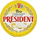 President Brie Plain 60% Wheel 2.2 Pounds (1 Kilo)