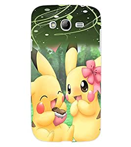 ColourCraft Cute Cartoon Creatures Design Back Case Cover for SAMSUNG GALAXY GRAND I9082
