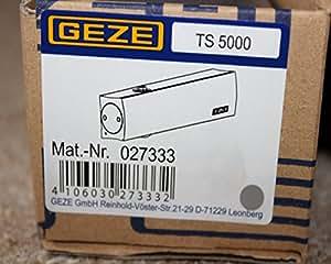 TS 5000 Körper incl. Gleitschiene silber 027333 068221