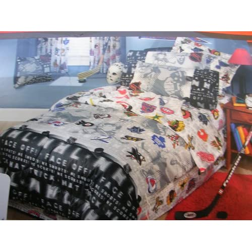 Amazon.com - NHL Montage Full Size Bedding Comforter and