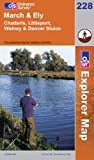 ISBN: 0319238024 - March and Ely (Explorer Maps): Chatteris, Littleport, Welney & Denver Sluice (OS Explorer Map)