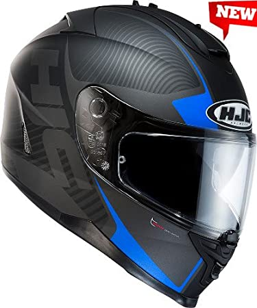 Casque hJC iS - 17 mISSION mC - 2F taille m 57/58)