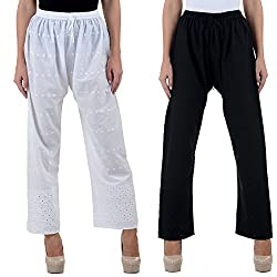 NumBrave Womens Fine set Cotton Trouser