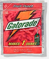 Gatorade 2.12 oz. packet (makes 1 Qt) - Fruit Punch - 24/pack