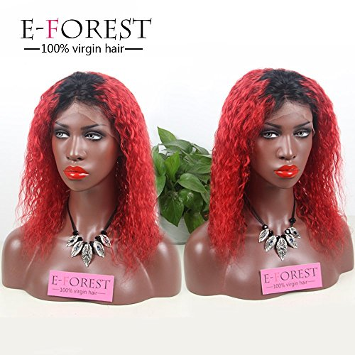 E-forest-hair-7A-Fashion-Virgin-Brazilian-Remy-Human-Hair-Curly-Lace-Front-Wig-1BTRed-Color-Middle-Part-Baby-Hair-Bleached-Knots-130-density-E5F-10012-inch