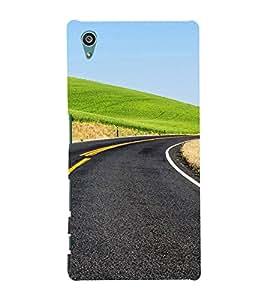 EPICCASE Road to Success Mobile Back Case Cover For Sony Xperia Z5 Premium / Z5 Plus (Designer Case)