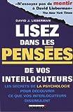 lisez dans les pensées de vos interlocuteurs (2848995335) by David J. Lieberman