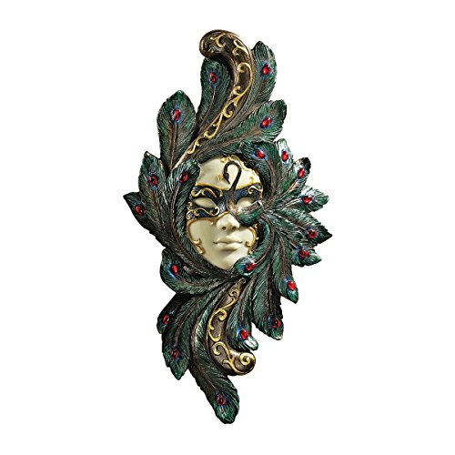 Design Toscano Masquerade at Carnivale Countess Barletta Mask Wall Sculpture