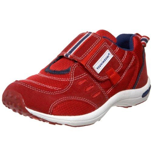 Tsukihoshi Child01 Euro Sneaker (Toddler/Little Kid),Red/Navy,11 M Us Little Kid