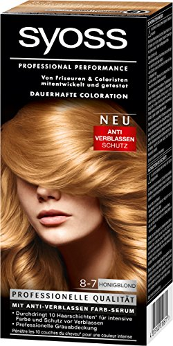 4053158922331 syoss coloration 8 7 honigblond 3er pack 3 x 115 ml - Syoss Coloration